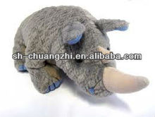 plush rhino stuffed toy