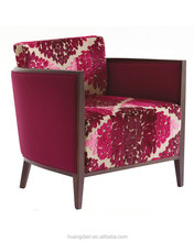 import furniture from china cheap price home furniture red fabric wooden tub chair