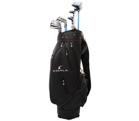 Factory price OEM golf club set with titanium driver,hybrid,fairway,irons