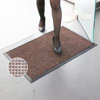 Water-Proof Door Mat Knitted with Rubber Backing