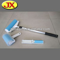 sticky lint roller with brush/mini washable lint roller/sticky lint roller set