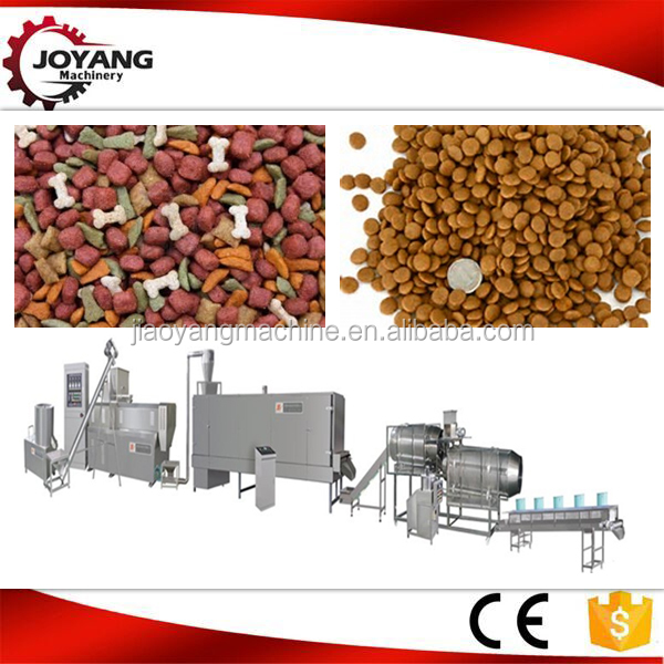 New Model dog pet food processing assembly machine line