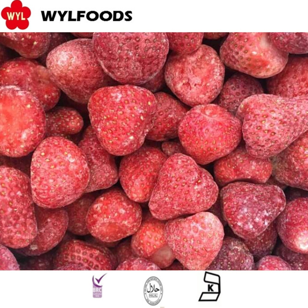 Bulk Fruits IQF Frozen Strawberry