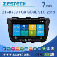 Factory price Autoradio with GPS FOR Kia SORENTO 2013 touch screen 2 din auto car audio radio player