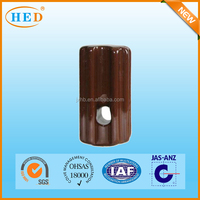 Brown color ANSI Electric Porcelain Stay Insulator