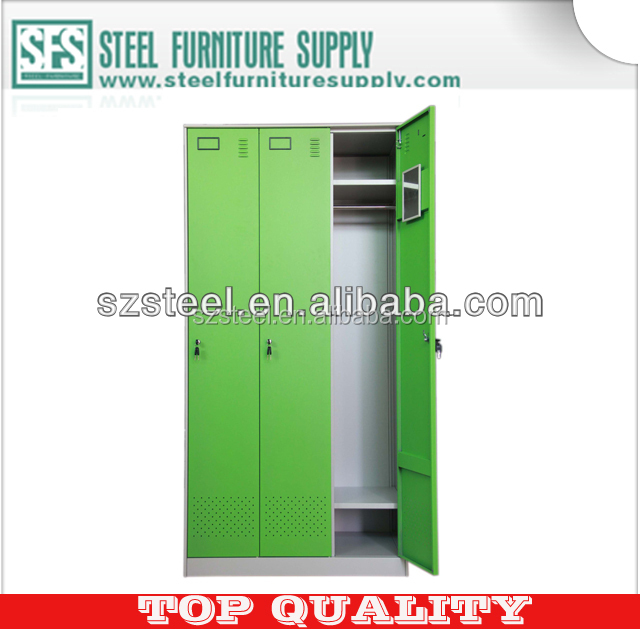 Guangdong Manufacturer --- 3 Door Locker, Storage Locker for School