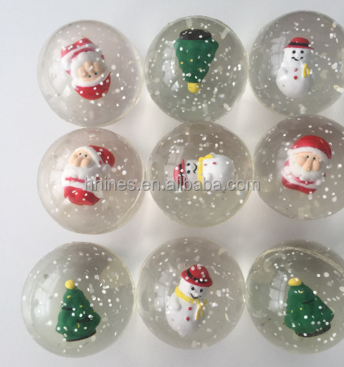 Factory sale 27mm 32mm 45mm rubber bouncing jumping stretch printed bouncy ball for vending machine