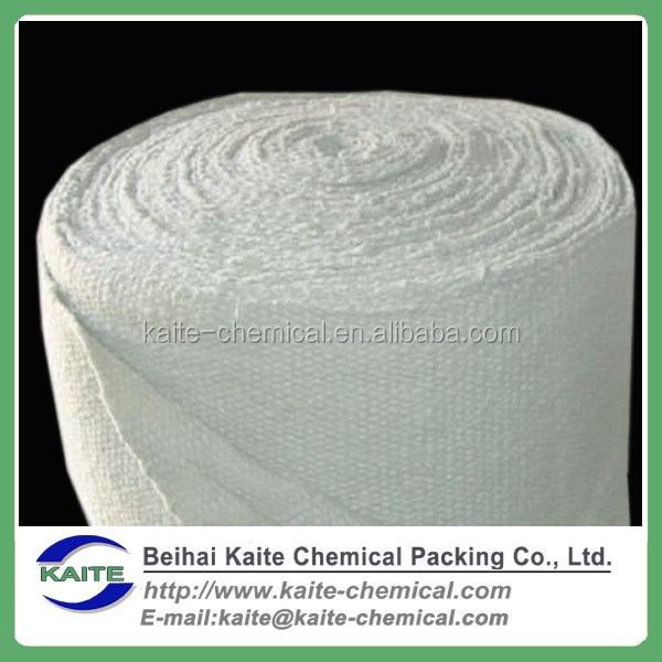 High quality vermiculite coated ceramic fiber cloth, Ceramic fiber cloth coated aluminium