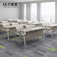 Leadex New OEM ODM Training Room Furniture With 3D Environment Images