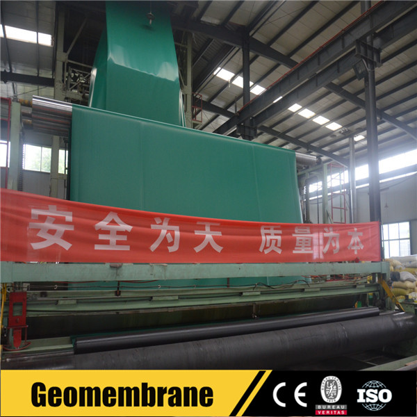 Green hdpe geomembrane fish farm pond liner for arowana fish