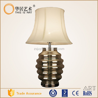 writing decorative cordless table lamp with base switch