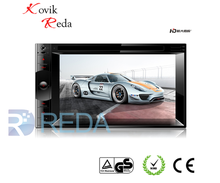 JK6204 6.2'' Touch screen 2 din car dvd/MP5 with gps ce 6.0 system
