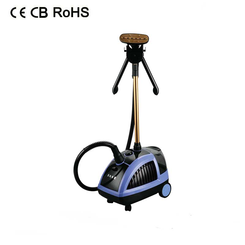 Professional hot selling high quality standing steam iron for clothes