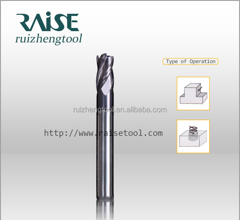 Carbide Corner Radius End Milling cutter