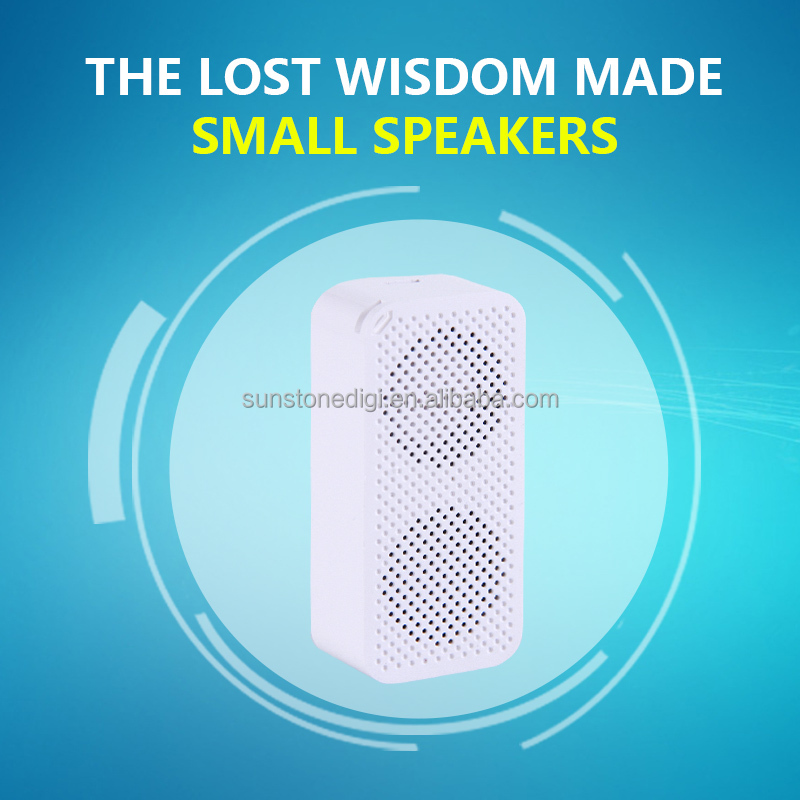 JTL Mini Wireless Square Bluetooth Speakes Hands free Calling Smart Sound Box Music Player Portable Speaker