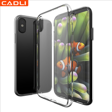 China Manufactuer Wholesale Bulk Thin Clear Silicone Tpu Cell Mobile Phone Case For Iphone 8