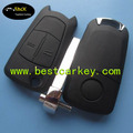Topbest replacement Vectra 2 buttons remote key shell HU100 flip car key shell