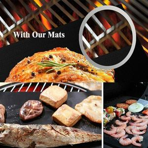 2018 Hot Selling High Quality Professional Non-stick PTFE Coated bbq grill Sheet