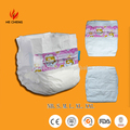 Wholesale soft non-woven disposable baby paper diaper