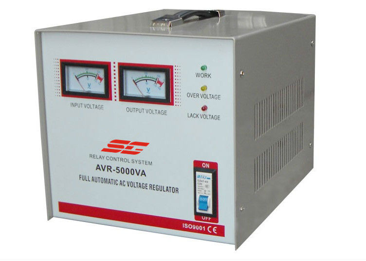 AVR 1000VA RELAY type voltage stabilizer with Europe plug and socket