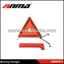 E-Mark safety reflector plastic warning triangle