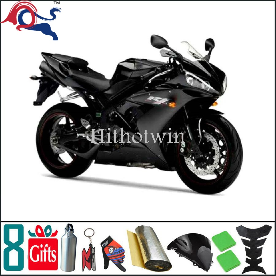 Matte Black fairing For yamaha YZF1000 1996 1997 1998 1999 2000 2001 2002 2003 2004 2005 2006 2007 Fairing Bodywork Plastic Kit