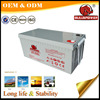 12v 260ah deep cycle solar energy storage battery for UPS system