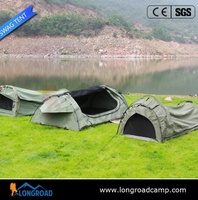 outdoors camping waterproof canvas fabric swag tent