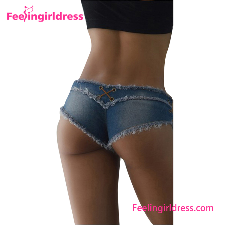 Sexy Denim Mini Shorts Women Tight Jeans Short Skin Tight Shorts