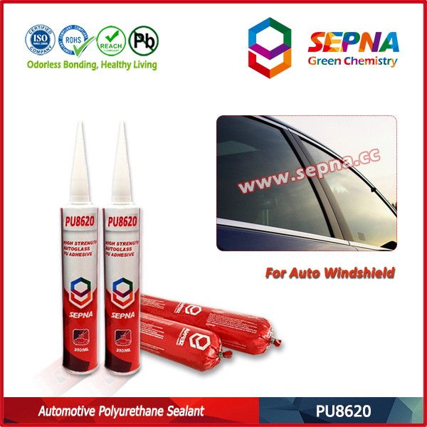 310 ml PU adhesive sealant for structural bonding of automobile production and repairing