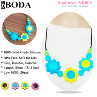 wholesale baby necklace silicone teething necklace