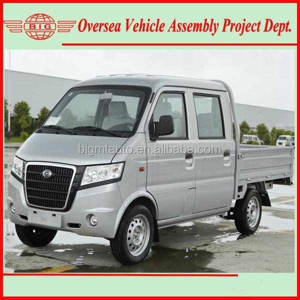 Assemble Rhd/lhd Rwd Double Cabin Gasoline Mini Truck With Skd/ckd