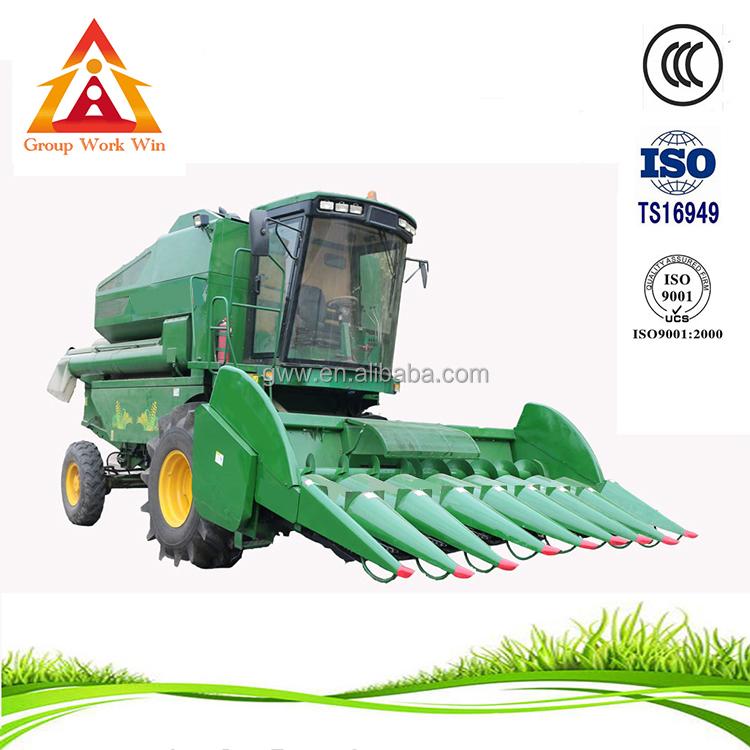 high quality and low price mini corn combine harvester