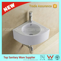 best selling hot product corner sinks for bathroom / small hand wash basins