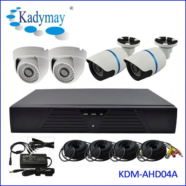 Top-Rated Supplier HD Surveillance 4ch video system kit