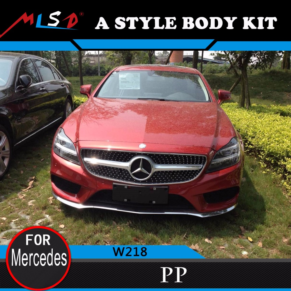 NEW MODEL Perfect fitment CAR STYLING MLSD hot sale AM-G style body kit for MERCEDES Benz W218 CLS CLASS