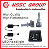 New Generation 5000lm 38w H4 Led Headlight Automobile Bulbs