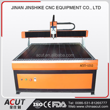 Ball screw cheap price steel gantry aluminum table 3d advertising cnc cutting machine