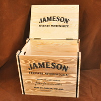 Natural Wood New Design Wooden Wine Box / Case