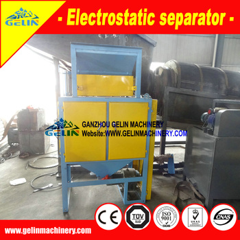 HTS Electrostatic Separator for heavy minerals separation
