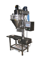 HS1000BF Auger screw measure Chocolate top cream filling machine