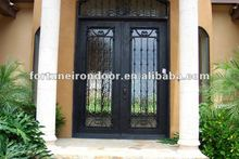 Forge iron Door wrought iron main gates manufacture