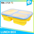 Cheap no off-smell silicone safety material food packaging lunch box