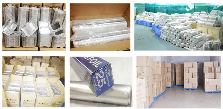 food grade 200sheets/box pop-up foil sheets aluminum foil manufacturer