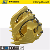 high quality Long service life 4-6ton excavator used hydraulic clamp bucket for farm work