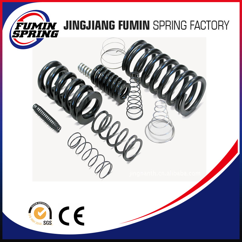 Good quality customized black compression spring For multiple industries