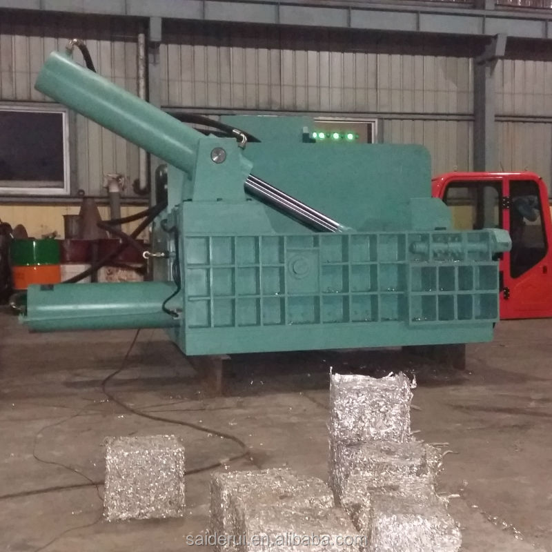 Automatic Hydraulic Scrap Metal Baler Scrap Press Machine