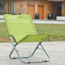 Outdoor Folding Beach Chair Small Leg Chair Without Armrest