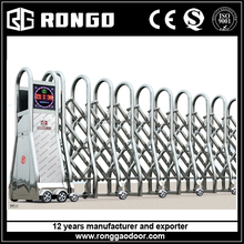 Rongo automatic trackless motorized folding gate door