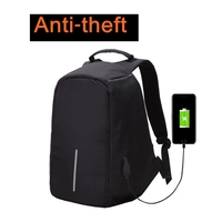 External USB Charging Interface Large Capacity Travel Anti-theft backpack school bag Laptop waterproof anti theft backpack